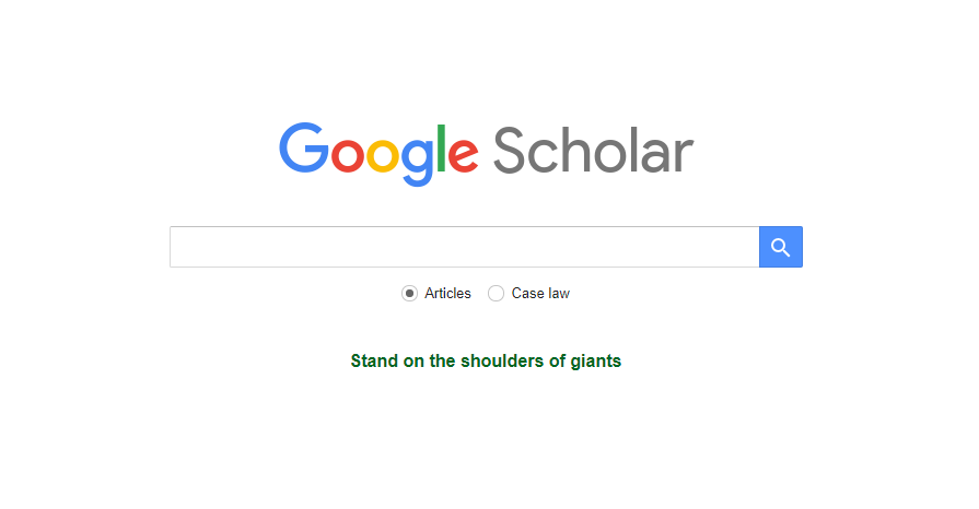 Google Scholar - finding datasets made easy   TechBuilders